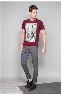T-Shirt T-SHIRT DENIL Homme P197 (47924) - DEELUXE