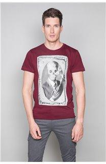 T-Shirt T-SHIRT DENIL Homme P197 (47925) - DEELUXE