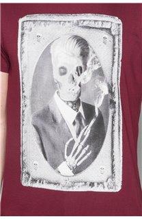 T-Shirt T-SHIRT DENIL Homme P197 (47927) - DEELUXE