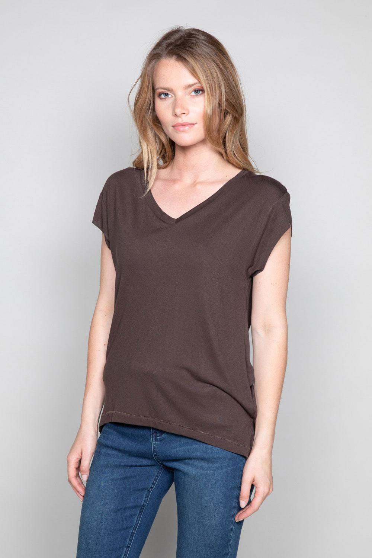 T-Shirt T-SHIRT SWEET Femme P131W (47958) - DEELUXE