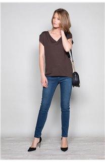T-Shirt T-SHIRT SWEET Femme P131W (47959) - DEELUXE