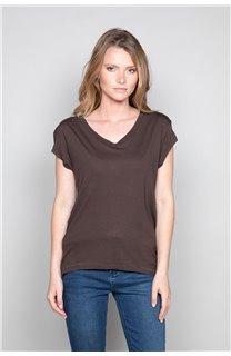 T-Shirt T-SHIRT SWEET Femme P131W (47960) - DEELUXE