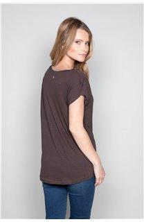 T-Shirt T-SHIRT SWEET Femme P131W (47961) - DEELUXE