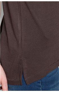 T-Shirt T-SHIRT SWEET Femme P131W (47962) - DEELUXE