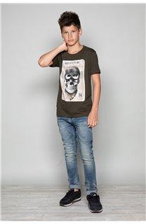 T-Shirt CLEM Garçon P196B (47974) - DEELUXE