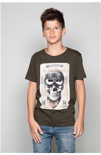 T-Shirt CLEM Garçon P196B (47975) - DEELUXE