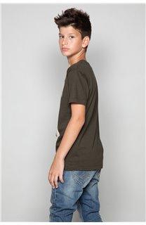 T-Shirt CLEM Garçon P196B (47976) - DEELUXE