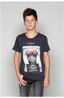 T-Shirt T-Shirt BANDI Garçon W19190B (48038) - DEELUXE