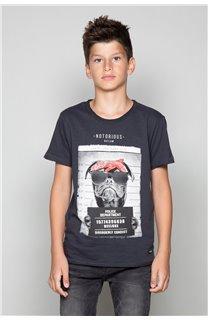 T-Shirt T-Shirt BANDI Garçon W19190B (48040) - DEELUXE