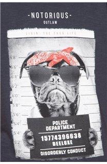 T-Shirt BANDI Garçon W19190B (48042) - DEELUXE