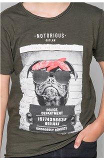 T-Shirt T-Shirt BANDI Garçon W19190B (48047) - DEELUXE