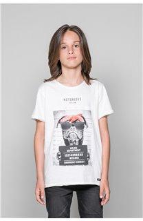 T-Shirt BANDI Garçon W19190B (48048) - DEELUXE