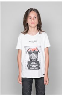T-Shirt T-Shirt BANDI Garçon W19190B (48050) - DEELUXE