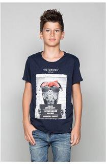 T-Shirt T-Shirt BANDI Garçon W19190B (48053) - DEELUXE