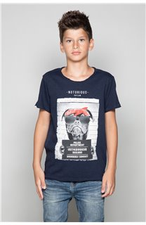 T-Shirt T-Shirt BANDI Garçon W19190B (48055) - DEELUXE