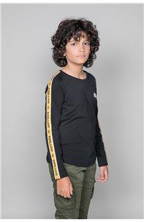 T-Shirt T-Shirt LITIUM Garçon W19191B (48098) - DEELUXE