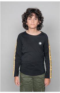 T-Shirt T-Shirt LITIUM Garçon W19191B (48100) - DEELUXE