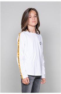 T-Shirt T-Shirt LITIUM Garçon W19191B (48103) - DEELUXE
