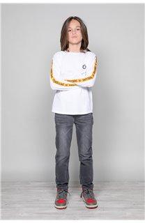T-Shirt T-Shirt LITIUM Garçon W19191B (48104) - DEELUXE
