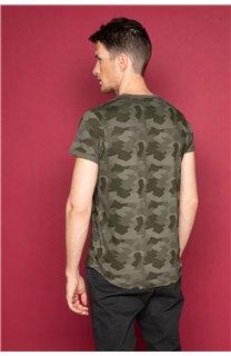 T-Shirt T-SHIRT WEAK Homme W19147 (48120) - DEELUXE