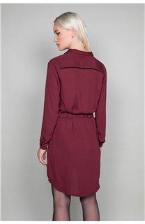 Robe VIOLETTE Femme W19226W (48195) - DEELUXE