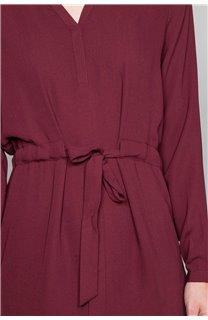 Robe VIOLETTE Femme W19226W (48196) - DEELUXE