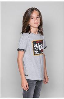 T-Shirt VERNON Garçon W19116B (48288) - DEELUXE