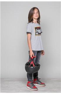 T-Shirt VERNON Garçon W19116B (48289) - DEELUXE