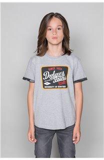 T-Shirt VERNON Garçon W19116B (48290) - DEELUXE