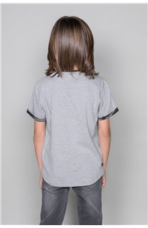 T-Shirt VERNON Garçon W19116B (48291) - DEELUXE