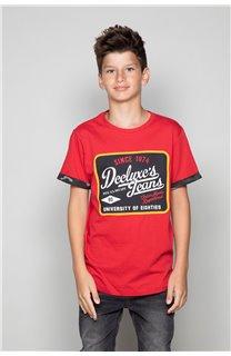 T-Shirt VERNON Garçon W19116B (48295) - DEELUXE