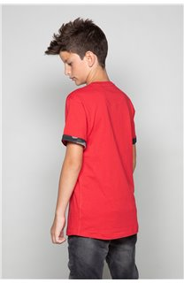 T-Shirt VERNON Garçon W19116B (48296) - DEELUXE