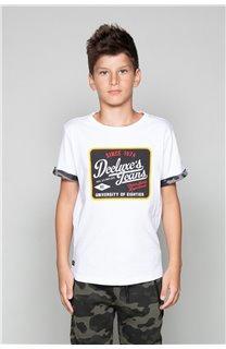 T-Shirt VERNON Garçon W19116B (48298) - DEELUXE