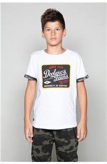 T-Shirt VERNON Garçon W19116B (48300) - DEELUXE
