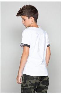 T-Shirt VERNON Garçon W19116B (48301) - DEELUXE