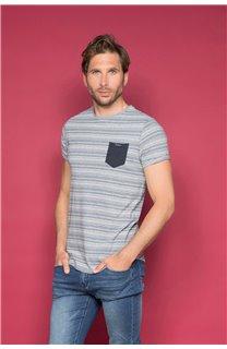 T-Shirt ADKINS Homme W19121 (48303) - DEELUXE