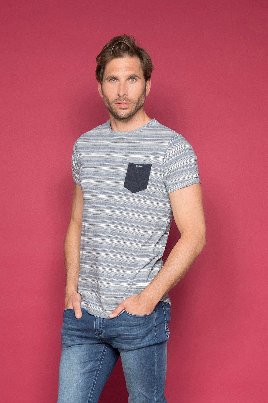 T-Shirt T-SHIRT ADKINS Homme W19121 (48303) - DEELUXE