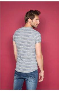T-Shirt ADKINS Homme W19121 (48306) - DEELUXE