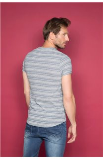 T-Shirt T-SHIRT ADKINS Homme W19121 (48306) - DEELUXE