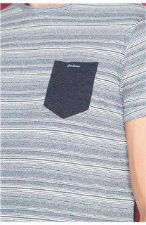 T-Shirt T-SHIRT ADKINS Homme W19121 (48307) - DEELUXE