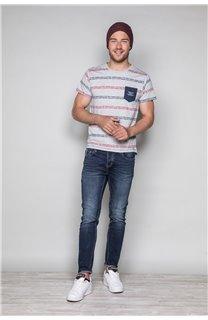 T-Shirt T-SHIRT STAN Homme W19151 (48314) - DEELUXE