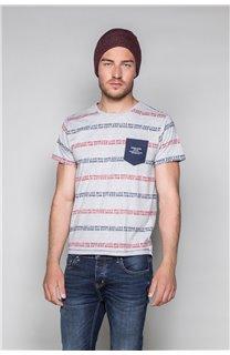 T-Shirt T-SHIRT STAN Homme W19151 (48315) - DEELUXE