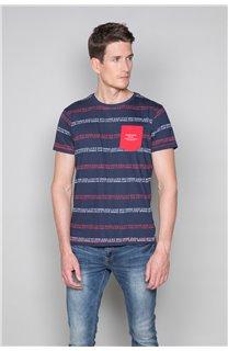 T-Shirt T-SHIRT STAN Homme W19151 (48318) - DEELUXE