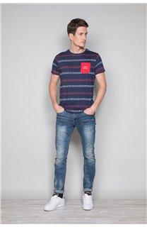 T-Shirt T-SHIRT STAN Homme W19151 (48319) - DEELUXE