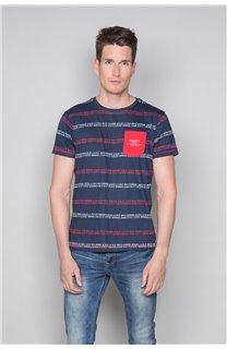 T-Shirt T-SHIRT STAN Homme W19151 (48320) - DEELUXE