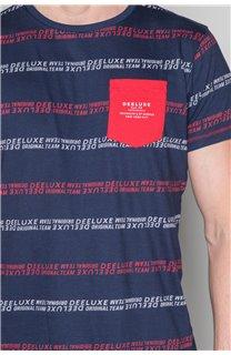 T-Shirt T-SHIRT STAN Homme W19151 (48322) - DEELUXE