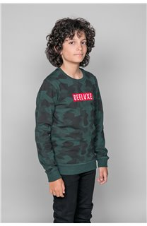 Sweat Sweat HEATHENS Garçon W19536B (48343) - DEELUXE
