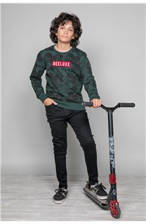 Sweat Sweat HEATHENS Garçon W19536B (48344) - DEELUXE