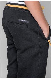 Pantalon Pantalon LUIGI Garçon W197114B (48414) - DEELUXE