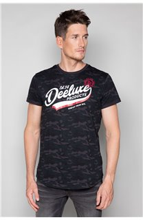 T-Shirt T-SHIRT MILO Homme W19140 (48465) - DEELUXE